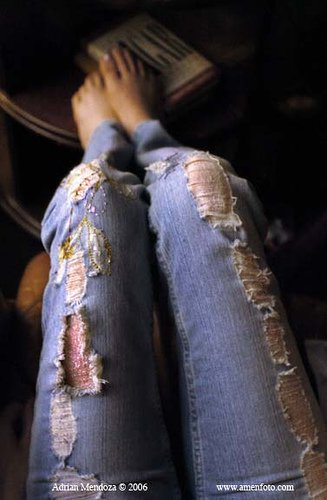 Jeans are just so comfortable