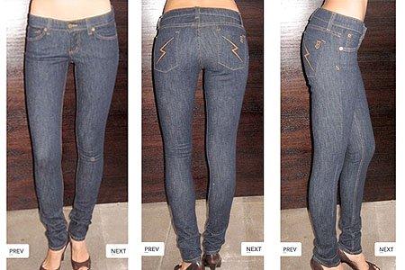 Jet Bolt Skinny Jeans in Dark Clean