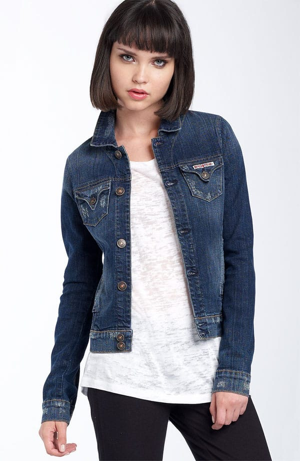 Hudson Jeans Kasidy Stretch Denim Jacket