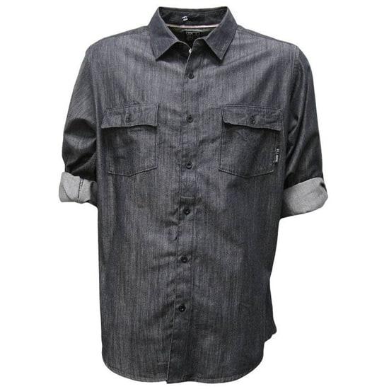 Billabong Men's Chaplin Long Sleeve Shirt in Indigo