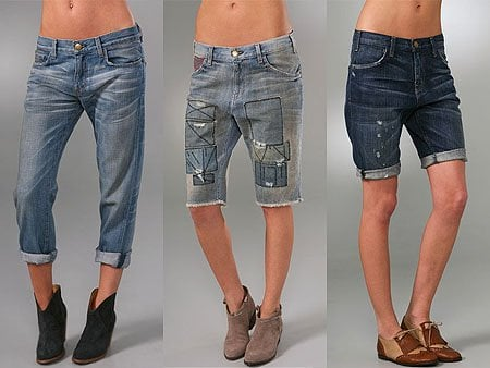 drop crotch/boyfriend jeans