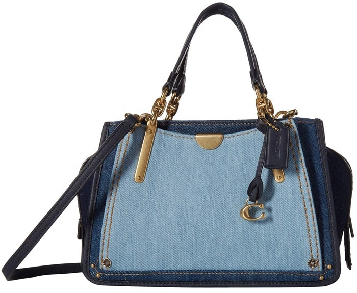 Coach Denim Color Block Dreamer 21