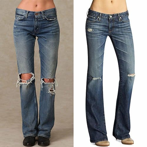Levis LVC 646 60's Flare and AG Adriano Goldschmied Angel Bootcut Jeans