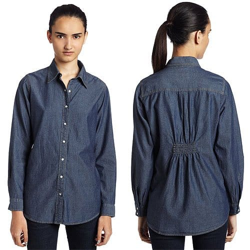 IZOD Long-Sleeve Denim Big Shirt