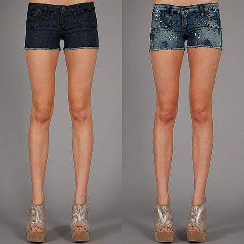 Bleulab Shortcut Reversible Shorts in Paint Splatter