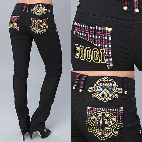 COOGI Bootcut Jeans with Pocket Detail