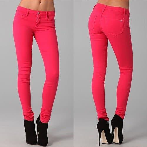 Joe's Jeans Chelsea Skinny Jeans in Virtual Pink