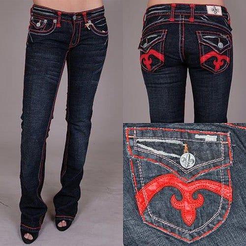 Laguna Beach Crystal Cove Bootcut Jeans