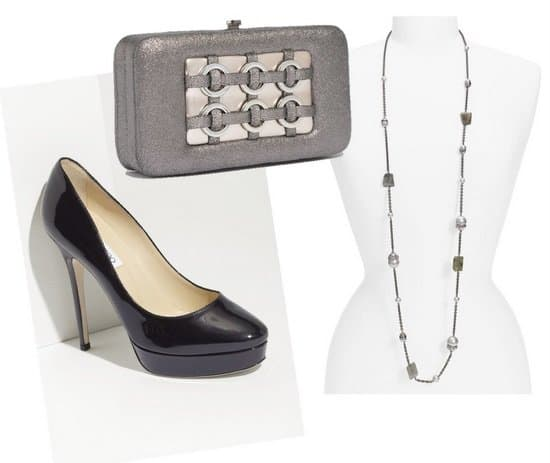 Complete the Look With Fabulous Shoes, a Trendy Yet Functional Bag, and Jewelry