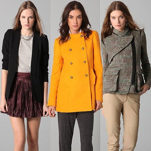 Glamorous blazers and jackets