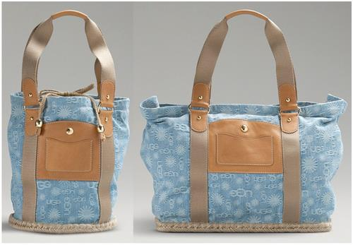 UGG denim handbags