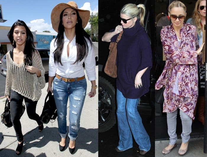 Tips on ways different petites can wear jeans