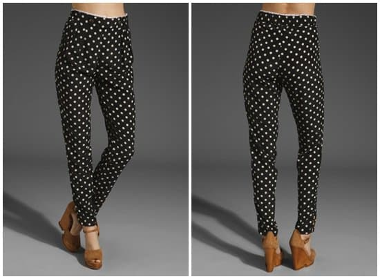 6 Shore Road Anchors Away Trouser in Polka Dot