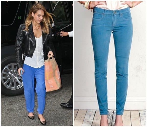 Jessica Alba in Blue Jeans