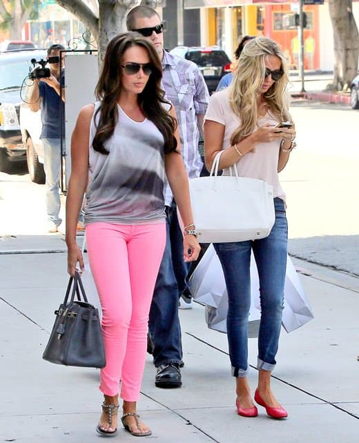 Tamara and Petra Ecclestone out shopping in West Hollywood