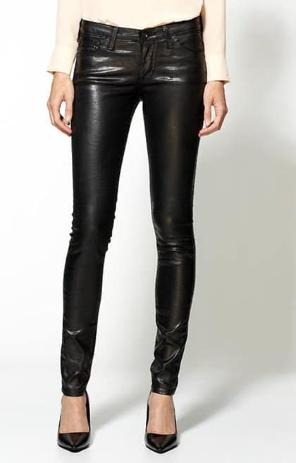 AG Adriano Goldschmied The Legging Leatherette Jeans