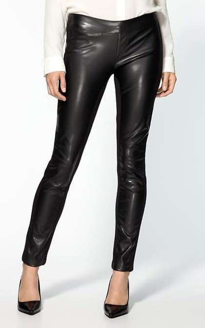 Dex Vegan Leather Pants