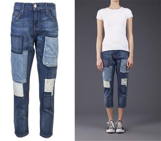 Current Elliott Skinny Boy Jeans