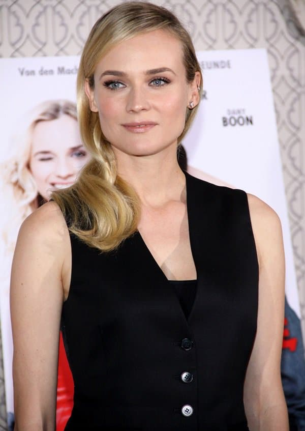 Diane Kruger at the German photo call for 'A Perfect Plan' at Hotel de Rome in Berlin, Germany, on January 31, 2013