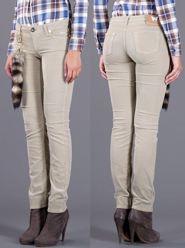 Fix Design Skinny Fit Trousers