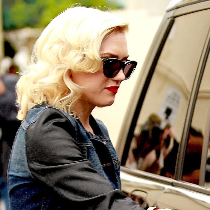 Gwen Stefani rocks Dita Savoy cat-eye sunglasses