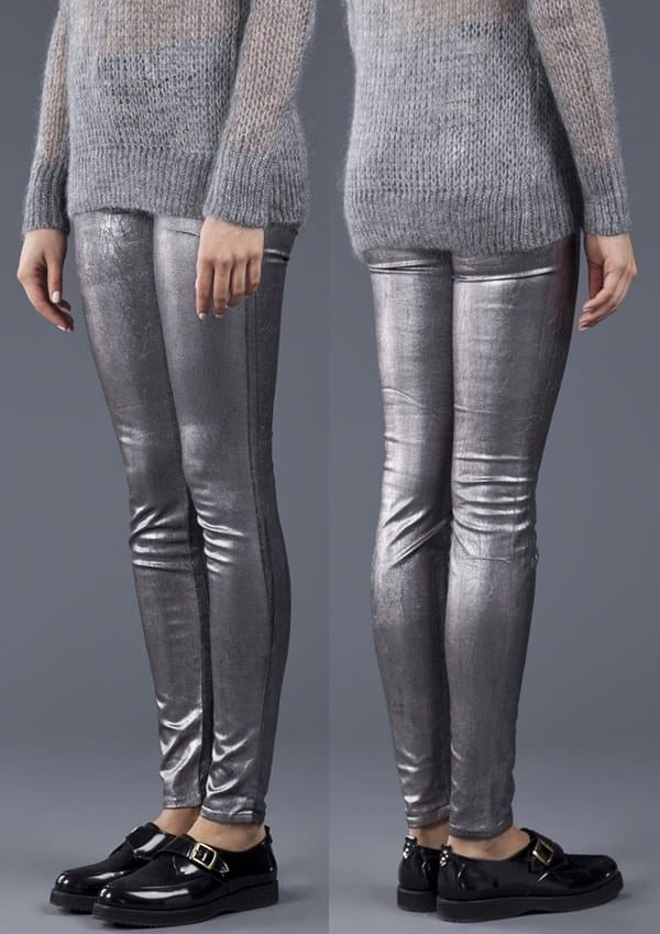 J Brand 801 Coated Leggings