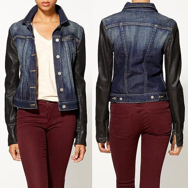 Paige Lenny denim jacketj