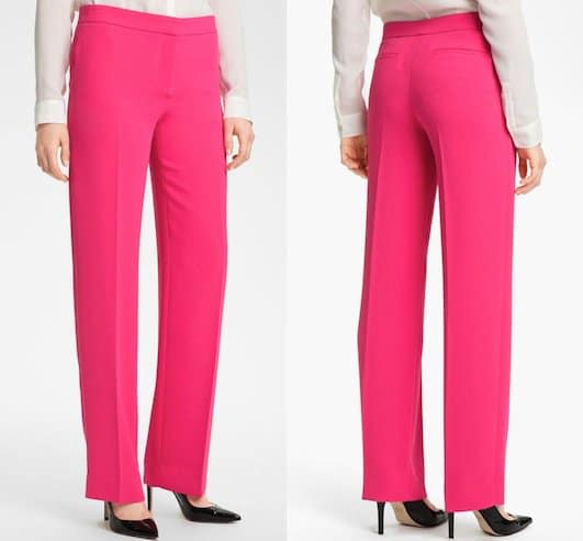 Rachel Roy Straight-Leg Pants in Hibiscus