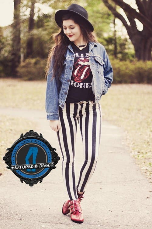 How To Wear Striped Pants Tips From 6 Personal Style Bloggers
