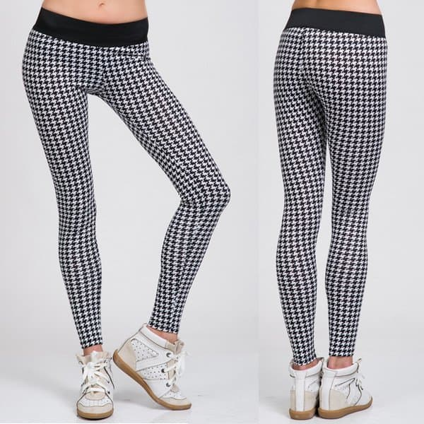 Houndstooth Leggings from ShopGrl