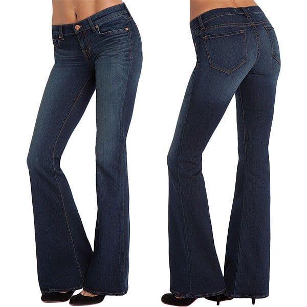 """J Brand """"Babe"""" Bell Bottom Jeans"""