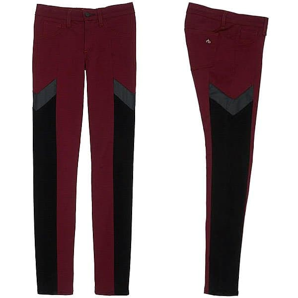 "Rag & Bone JEAN ""Grand Prix"" Motocross Legging Jeans"