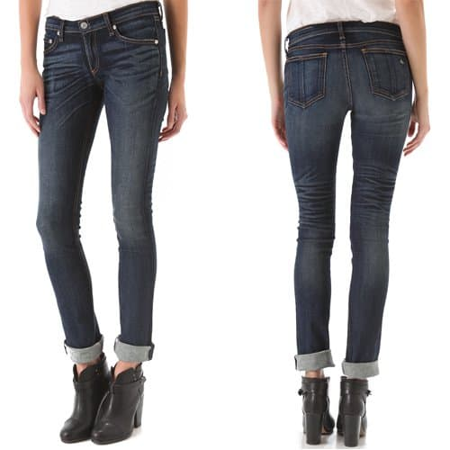 Rag & Bone JEAN The Cigarette Leg Jeans