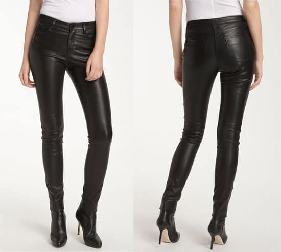 Vince Leather Jeans