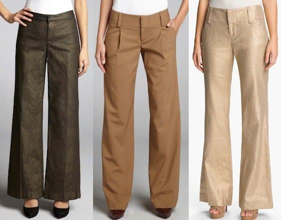gold-brown-wide-leg-pants
