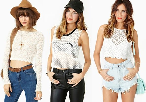 Nasty Gal Cropped Women's Tops