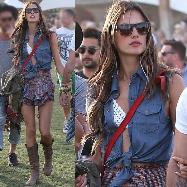 Alessandra Ambrosio Coachella 2013 1