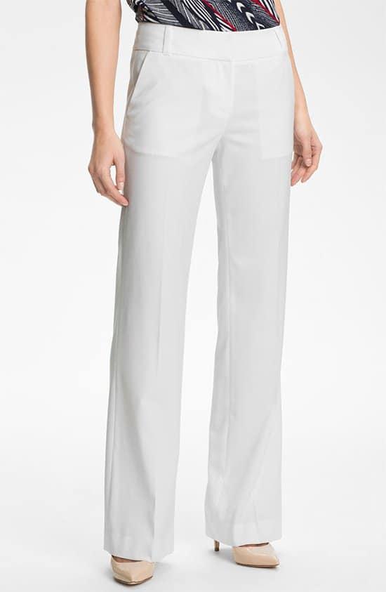 Anne Klein Wide Leg Trousers