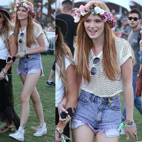 Bella Thorne Coachella 2013