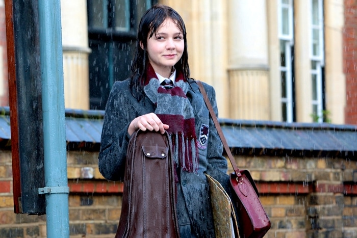 An Education, a 2009 coming-of-age drama film, stars Carey Mulligan as Jenny, a bright schoolgirl