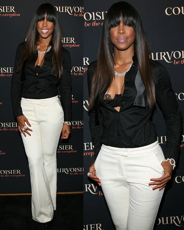 Courvoisier kick's off 'Courvoisiology' with Award-winning songstress Kelly Rowland at SIR Stage 37 on April 5, 2013