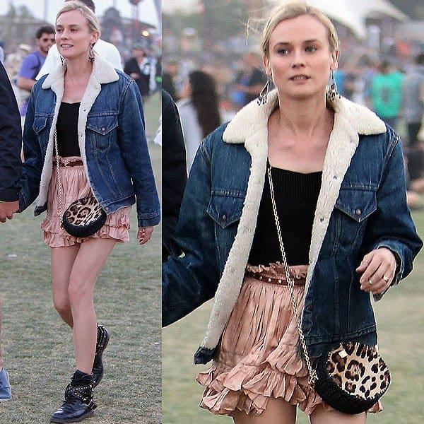 Diane Kruger Coachella 2013