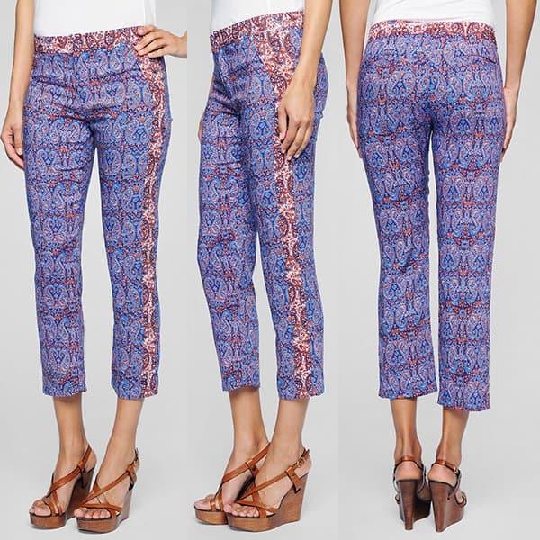 Ella Moss Dixon Paisley Pants