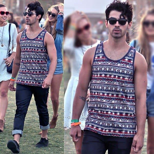 Joe Jonas Coachella 2013