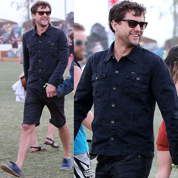 Joshua Jackson Coachella 2013 1