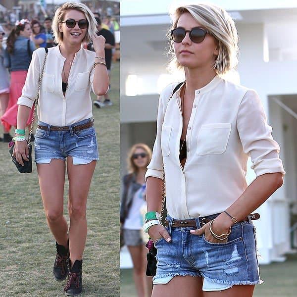 Julianne Hough Coachella 2013