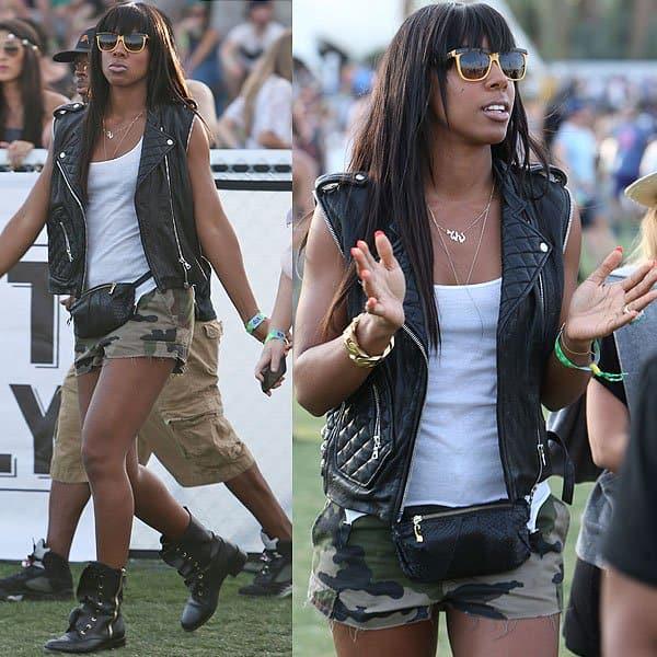 Kelly Rowland Coachella 2013