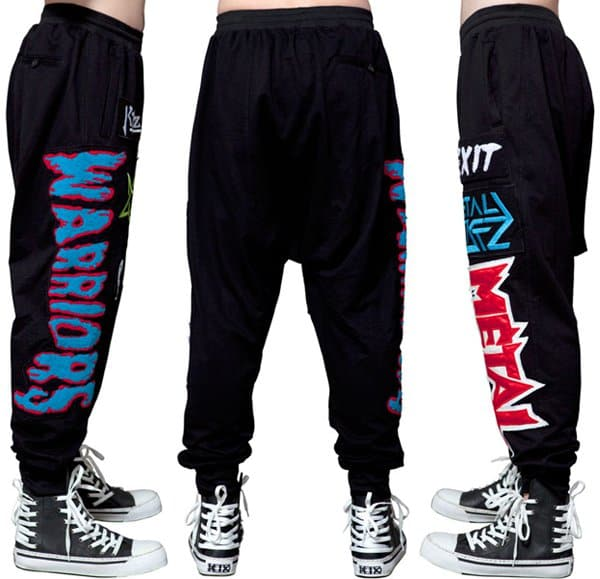 Kokon to Zai Color Embroidered Patch Jogging Trousers