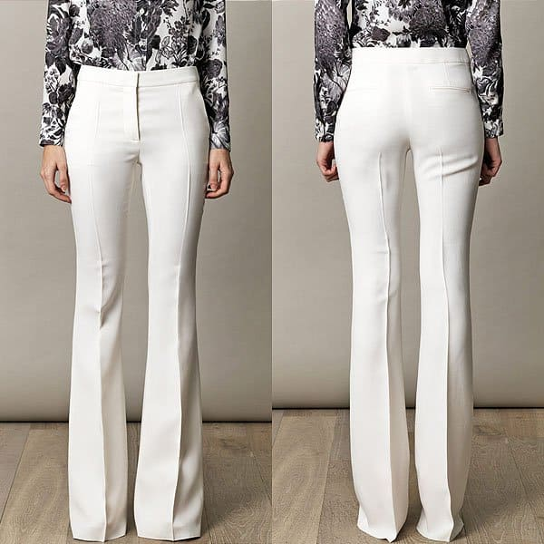 "Stella McCartney ""Bedford"" Fluid Trousers"