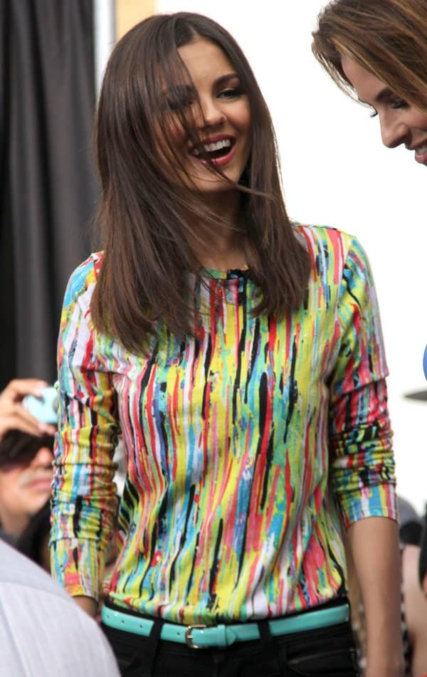 Victoria Justice seen at The Grove